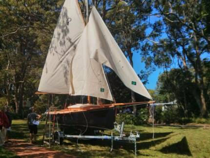 20 Ft Gaff Cutter in beautiful condition