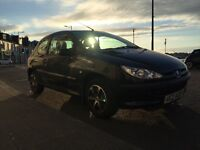 Peugeot 206 (2003) - Black, Low Mileage, New Timing Belt, Cheap Insurance, Bluetooth Radio