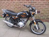 ajs js 125 2008 nice running bike 11 months mot ready to go