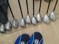 GOLF CLUBS FULL SET OF HYBRIDS+FREE CORBRA DRIVER