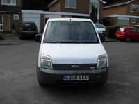 REDUCED TO CLEAR FORD TRANSIT CONNECT 1.8 TDCI 2008 LONG MOT VERY TIDY VAN