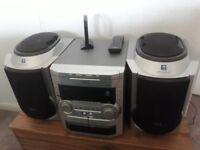 Philips FW-C80 3 cd mini HiFi System Stereo Cassette Player