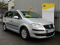 Volkswagen Touran 1.9 TDI S MPV 5dr (7 Seats) Parking Aid, 8 Stamps, Fsh