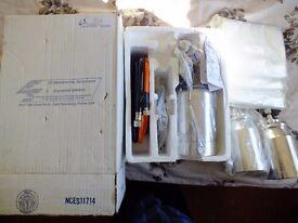 gelcoat spray gun+ accessories