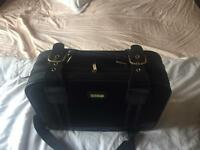 Small hand luggage size suitcase