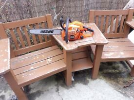 ECHO CS 370ES CHAINSAW WITH NEW ECHO BAR AND NEW CHAIN