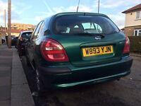 For sale Nissan almera 1,8 automatic petrol low mileage...