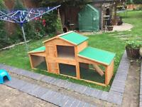 Rabbit / Guinea Pig Hutch For Sale