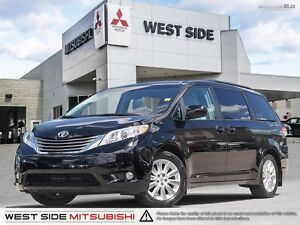 2014 Toyota Sienna XLE–Accident Free–One Owner–AWD–3.5L V6–