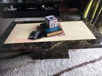 Lovely Solid Marble Coffee Table