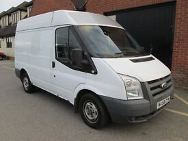 2008 (58) FORD TRANSIT DIESEL SWB HIGH TOP Part exchange available / Credit & Debit cards accepted