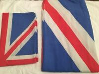 Single bed duvet cover Union Jack