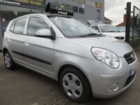 KIA PICANTO 1.1 2 5dr Auto (silver) 2010