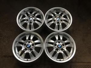 "4 BMW 16"" STYLE 154 FACTORY ORIGINAL 5 DOUBLE-STAR - 2005-2011 3 SERIES + Z3 1996-2003 - 6775593"