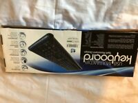 Brand new USB Multimedia Keyboard Spill Resistant Design. Still in a box.