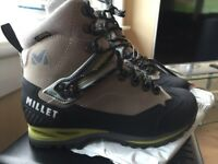 Hiking boot. Millet ld Heavans Peak women's Size 38 5.5 . Brand new, still tagged and boxed