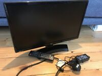 LG 22inch HD tv or computer monitor. As new.