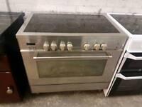 Delonghi Professional Electric Range Cooker 90cm width