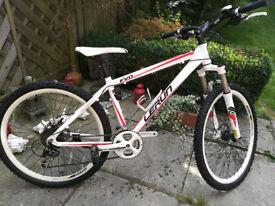 Bike MTB Lerun wheels 26 inch and 24 speeds mint condition