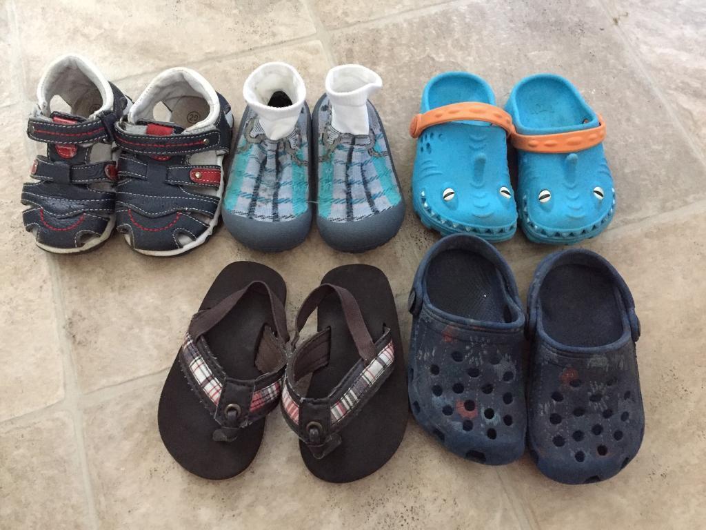 Free boys Summer footwear size 5