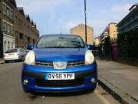 NISSAN NOTE 1.4 SE PETROL  MANUAL ONE OWNER,  MOT due 29/sep/2017, ***70000 miles, Warranted