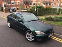 2004/04 REG LEXUS IS200 SE ** 6 SPEED ** LOVELY CAR £1595