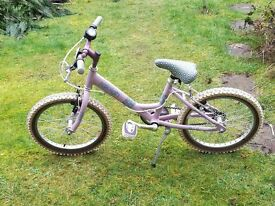 Raleigh Stars Girls Bike Age5-8 Years Excellent Condition
