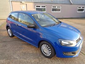 VW Polo 1.2 LOW MILEAGE FINANCE CAN BE ARRANGED Free Warranty Included