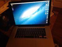 apple mac book pro 15 in 2008 2.4 intel duo 4 gig ram swap