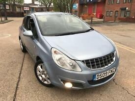 Vauxhall Corsa 1.2 i 16v Design 2009 3dr CHEAP INSURANCE(a/c) CALL ‭07479 320160‬