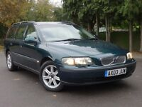 Volvo V70 Automatic Estate, Low Mileage, Auto Volvo History, not mercedes audi bmw vauxhall honda
