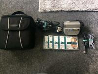 sony dvd handy camcorder with extras BARGIN