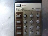 DENON RC-270 Remote control