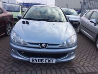 2006 06 PEUGEOT 206 CHEAP BARGAIN CAR SUPERB DRIVE VERY GOOD COND LONG MOT READY TO GO TODAY