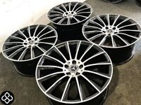 """BRAND NEW 19"""" MERCEDES AMG STYLE ALLOY WHEELS * TYRES AVAILABLE* - 5 x 112 - DIAMOND CUT FINISH"""