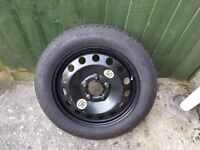 Brand new Continental space saver tyre 115/90 R16 5 stud.