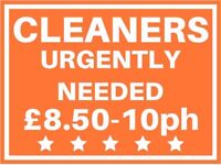 Cleaner Private Houses - up to £10ph, PART-TIME, flexible hours