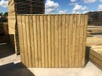•NEW• HEAVY DUTY PRESSURE TREATED GARDEN FENCE PANELS - VARIOUS SIZES