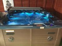 Mega spa relax hot tub ex display