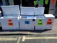 NEW/GRADED CHEST FREEZERS FROM £99