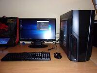 Fast good spec gaming PC - Intel i3 3220, 8GB DDR3, Radeon HD 7870, 500GB HDD