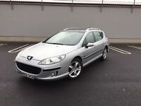 2006 Peugeot 407 SW 2.0HDi 136 Zenith - Leather Seats - Pan Roof - 12 Months MOT