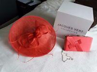 matching hat & silk bag - Jacques Vert £50