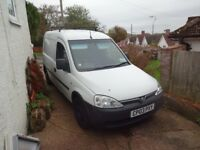 Vauxhall combo duo petrol / lpg for sale