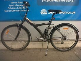 ORIGINAL 700 FULL SUSPENSION HYBRID BIKE + Accessories (Excellent condition!)