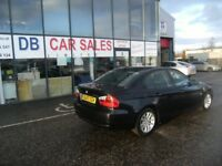 DIESEL !!! 2007 07 BMW 3 SERIES 2.0 320D SE 4D 161 BHP **** GUARANTEED FINANCE ****