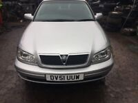 2002 Vauxhall Omega CD Auto 4Door Saloon Silver 2.2L BREAKING FOR SPARES