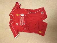 Liverpool football kit size MB
