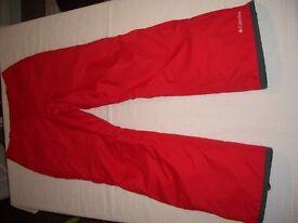 Ladies Ski Pants, 'Columbia' Brand.
