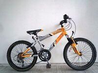 "(2014) 20"" 12"" SILVERFOX SFX BIGFOOT BOYS GIRLS MOUNTAIN BIKE BICYCLE; Age: 7-10; Height: 120-140 cm"